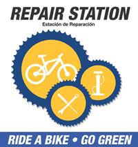 Bicycle Repair Station SIgn