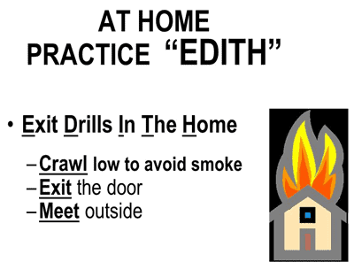 Exit Drills In The Home
