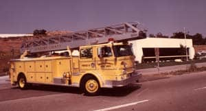VCFD First Ladder Truck