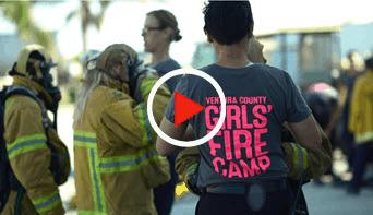 Girls Fire Camp video