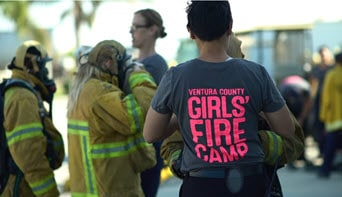 Girls Fire Camp