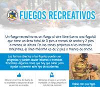 Recreational Fire Safety Flyer (ESP)