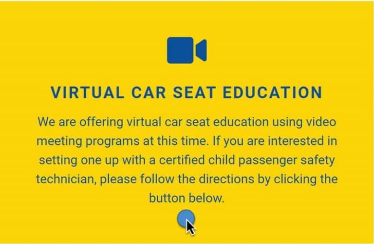 Virtual Car Seat Education