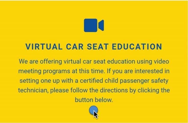 Virtual Car Seat Education