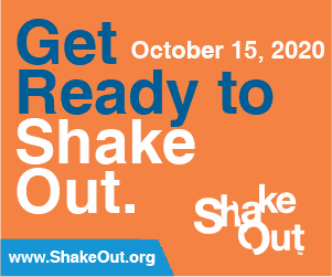 Get Ready to Shake Out October 15 2020