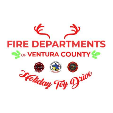 Fire Departments of VC Holiday Toy Drive logo